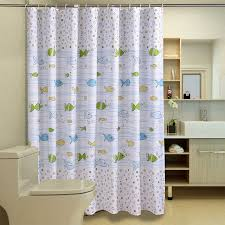 Fish Curtains Hakoona Bubbles Fish Polyester Shower Curtain Children S Bathroom