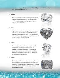 types of engagement rings 10 types of cuts for engagement rings