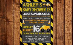 construction baby shower construction baby shower invitation baby construction