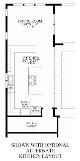 Kitchen Floorplans Julington Lakes Ambassador Collection The Julington Home Design