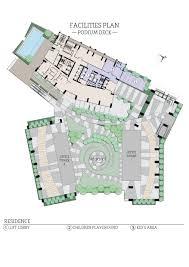 Podium Floor Plan by Viia Residences