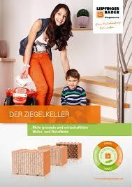 Bader De Mehr Wohnkomfort Dank Untergeschoss Ziegelwerke Leipfinger Bader