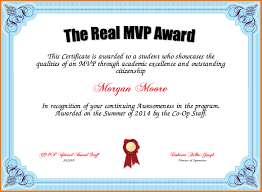 mvp certificate authorization letter pdf