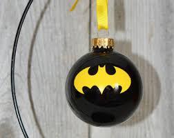 batman ornament etsy