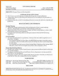 9 resume qualification examples budget reporting