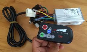 24v36v48v250w 1000w controller and led display for electric bike