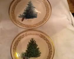 lenox tree plate etsy
