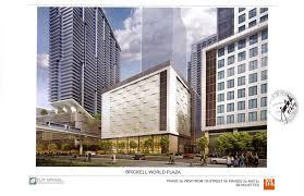 brickell world plaza files plan for 12 story retail u0026 garage
