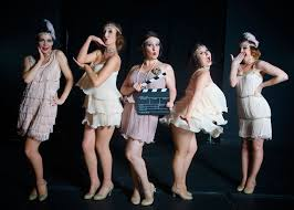 gatsby dancers midlands 1920s themed entertainment scarlett