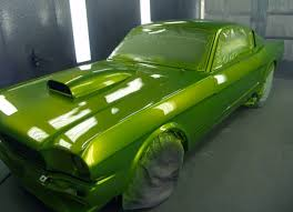 candy paint job on a 1965 ford mustang attitude paint jobs
