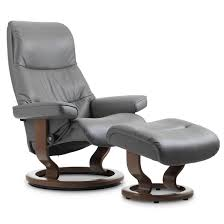 Sleek Recliner by Stressless View Classic Recliner U0026 Ottoman From 3 195 00 By