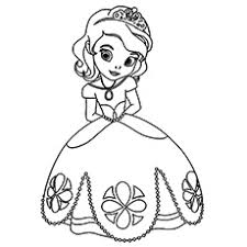 Little Girl Colouring Pages Funycoloring Princess And The Frog Colouring Pages