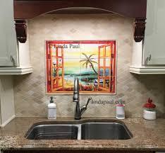kitchen tile murals tile backsplashes kitchen backsplash mosaic tile mural backsplash mural tiles
