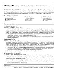 Warehouse Supervisor Resume Download Warehouse Manager Resume Haadyaooverbayresort Com