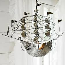 pirate ship light fixture light the way in your child s bedroom decor acrylic beads rigs