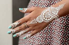 white and gold 15 stunning bridal henna designs for your wedding