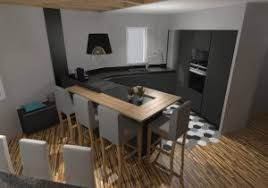 cuisine anthracite stunning cuisine noir mat et bois contemporary design trends 2017