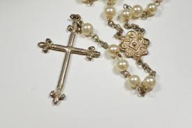 rosary from the vatican vintage vatican rosary edizioni musei vaticani by crazyauntdesigns
