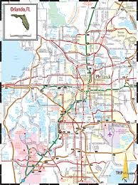 Clermont Fl Map Orlando Florida Map Throughout Fl Roundtripticket Me