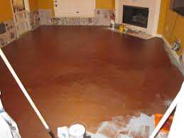 Concrete Stain Colors Pictures by Raising Royalty Painted Concrete Floors Are Beautiful