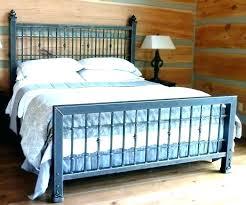 Metal King Size Headboard Wrought Iron King Bed Bemine Co