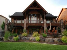 rear view house plans house plan baby nursery mountain house plans with basement ranch