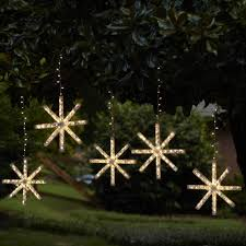 diy lighted snowflake or other shape easy to make step by step