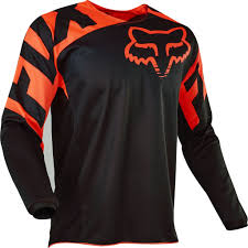motocross gear fox 2017 fox race 180 hc motocross jersey orange 1stmx co uk