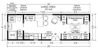 cottage floor plans small small house trailer plans tiny house floor plans home ideas small