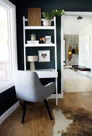 Container Store Leaning Desk Home Office Ideas For Small Spaces Crate And Barrel Blog
