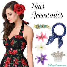 hair accesories vintage hair accessories combs headbands flowers scarf wigs