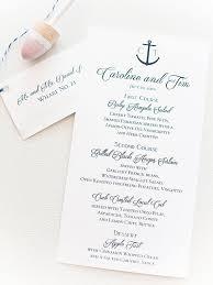 nautical wedding programs 16 best nautical wedding ideas
