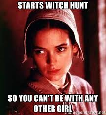 Creepy Girlfriend Meme - abigail williams the original overly attached girlfriend