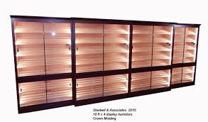 used cigar humidor cabinet for sale commercial retail display humidors