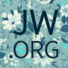 white and blue flowers jw org white and blue flowers stickers by jw stuff redbubble