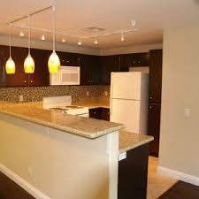 Track Lighting For Kitchen by Track Lights With Hanging Lamps For Awesome Kitchen Look Track