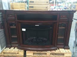 fancy tv stand with fireplace costco for a luxury interior design