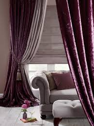 Grey And Purple Curtains Purple Velvet Curtains Ideas To Every Parts Of A House Decohoms
