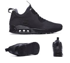 nike winter boots womens canada nike air max 90 mid winter trainers black s92266