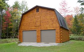 gambrel garage coventry log homes our log home designs garages