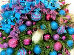 Blue Christmas Decorations Images by 30 Vibrant Purple Christmas Decorations