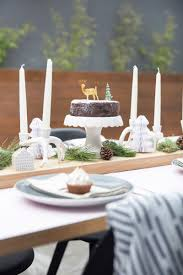 scandi christmas table setting by all the frills made from scratch