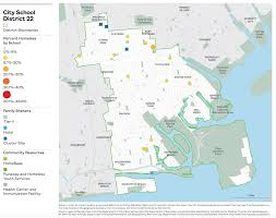 Portland Oregon Neighborhood Map by On The Map The Atlas Of Student Homelessness In New York City