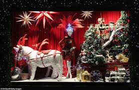 Christmas Decorations Shop Window Displays by Christmas Store Window Displays Learntoride Co