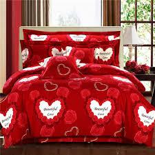 Minecraft Comforter Set 4pcs Diamond Velvet Minecraft Bedding Sets Twin Queen Size Red