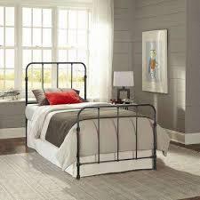 Bedrooms With Metal Beds Beds U0026 Headboards Bedroom Furniture The Home Depot