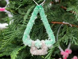 coated pipe cleaner ornaments kix cereal