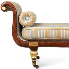 Victorian Chaise Lounge Sofa by Regency Faux Rosewood Antique Recamier Chaise Lounge C 1825 At