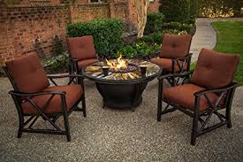 Gas Firepit Tables Oakland Living Moonlight Gas Firepit Table With