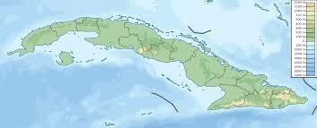 World Map Cuba by File Cuba Physical Map Svg Wikimedia Commons